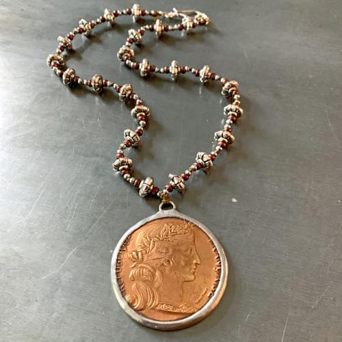 Extra Large Coin or Medallion Necklace