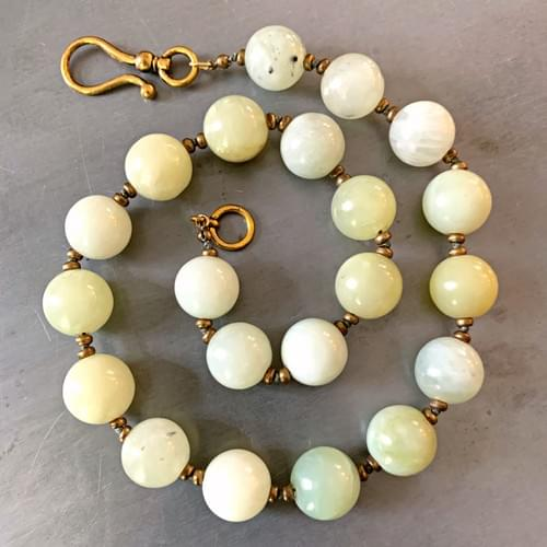 Celadon Green Jade Rounds
