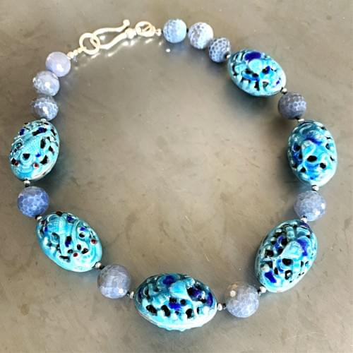 Vintage Chinese Enamel Beads