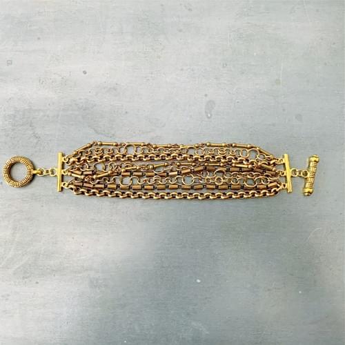 Multi-strand Vintage Chain Bracelet