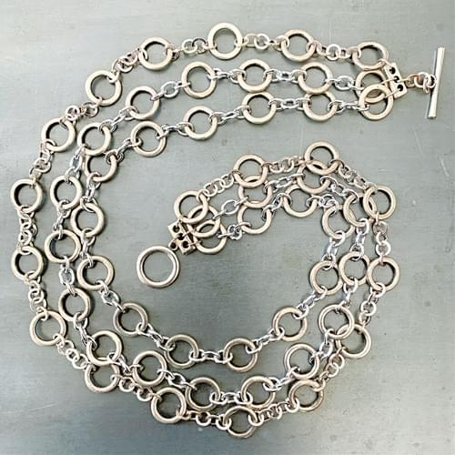 Layers of Links Necklace