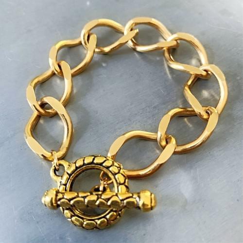Medium Vintage Curb Chain Bracelet