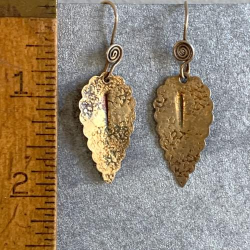 Antique Gold Leaves