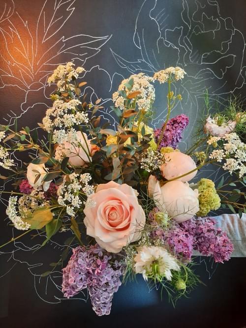 Abonnement bouquet champêtre