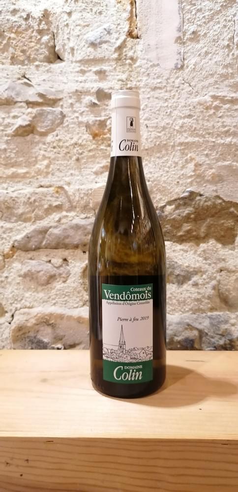 Pierre à feu 2019 - Domaine Colin - AOC  Coteaux du Vendômois