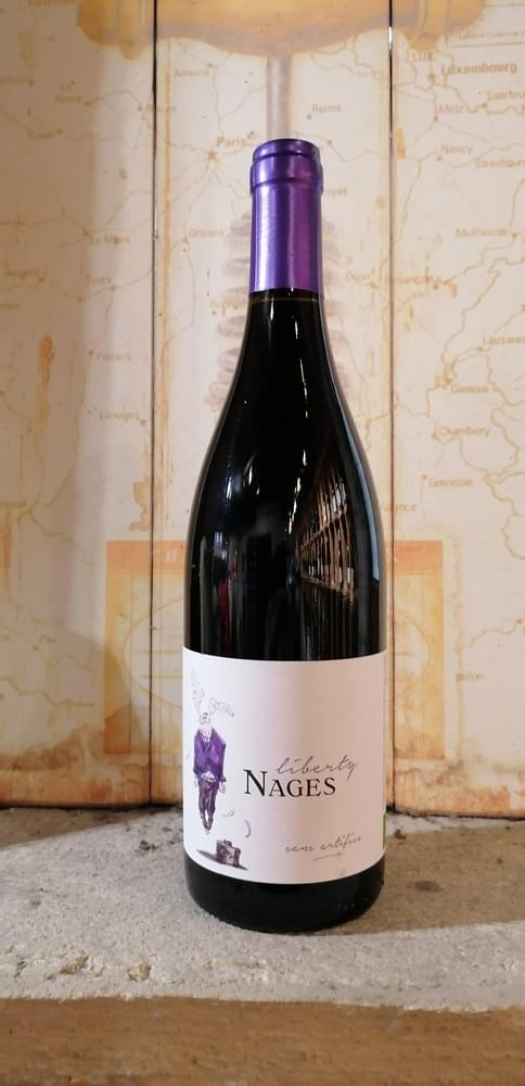 Liberty Nages Rouge    Château de Nages - Famille Gassier - Vallée du Rhône - Vin de France