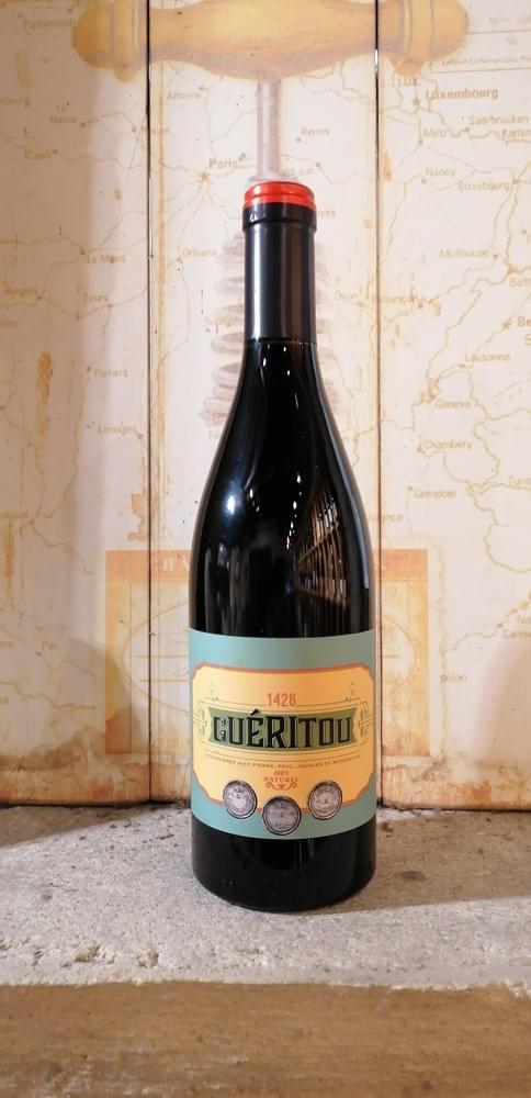 Guéritou rouge - Mas de Valériole - Famille Michel - Camargue - Vin de France
