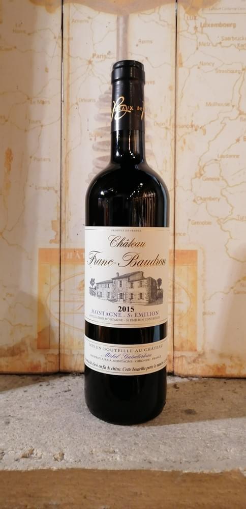 Château Franc-Baudron  2015 - Bordeaux - AOC Montagne-Saint-Émilion