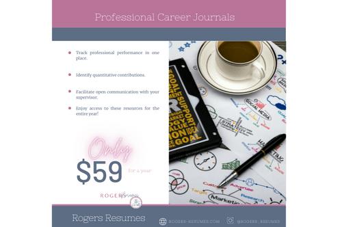 Professional Career Journal
