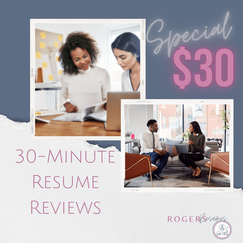 30 Minute Resume Review