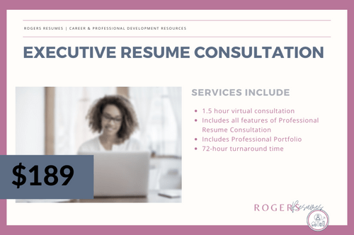 Executive Resume Consultation