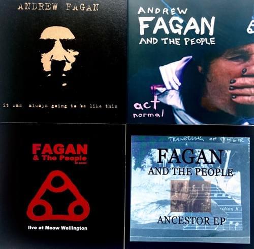 Andrew Fagan - 4 CD bundle