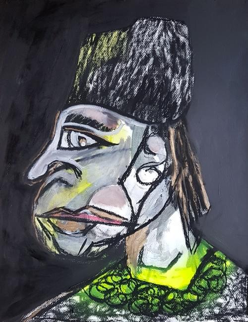 TRAVAILLEUR AU BONNET NOIR #3