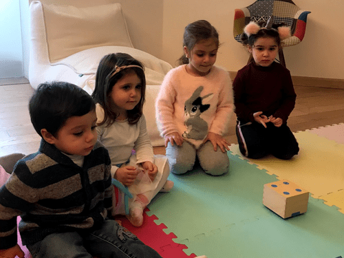 Storytelling session for 2 Toddlers