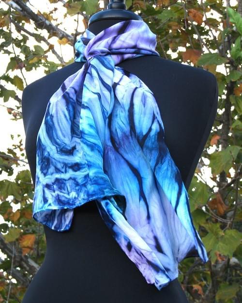 Single Day Workshop - Make a silk dyed scarf