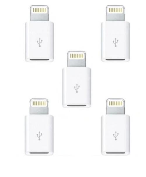 5 adaptateur convertisseur de prise micro USB