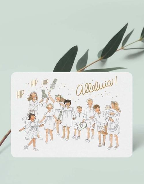 Mini carte « Invitation »