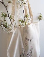 "Tote bag ""Ave Maria"""