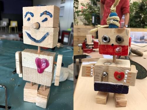Atelier Fabrication BlockBot - Les Batisseurs en herbe - Chambourcy - 17/10/2020 de 10h à 12h