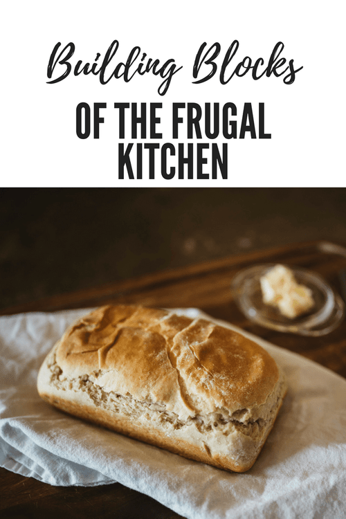 Building Blocks Of The Frugal Kitchen (E-book)