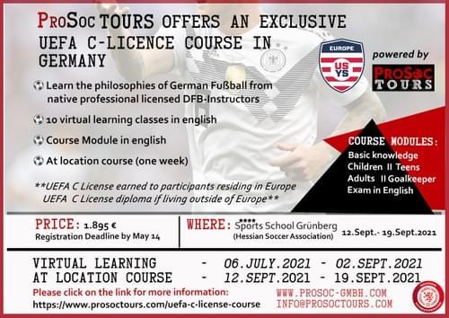 2021 UEFA C-License Course