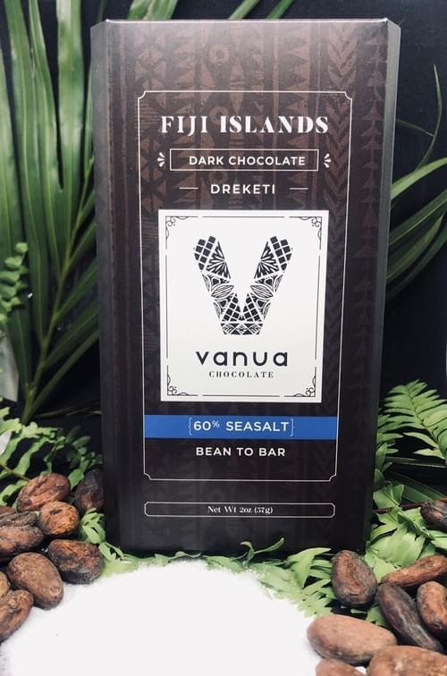 Sea Salt 60% Dark Chocolate Bar