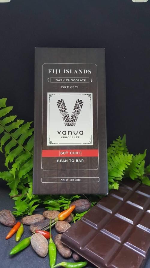 Vanuachocolate Dreketi 60% Chilli