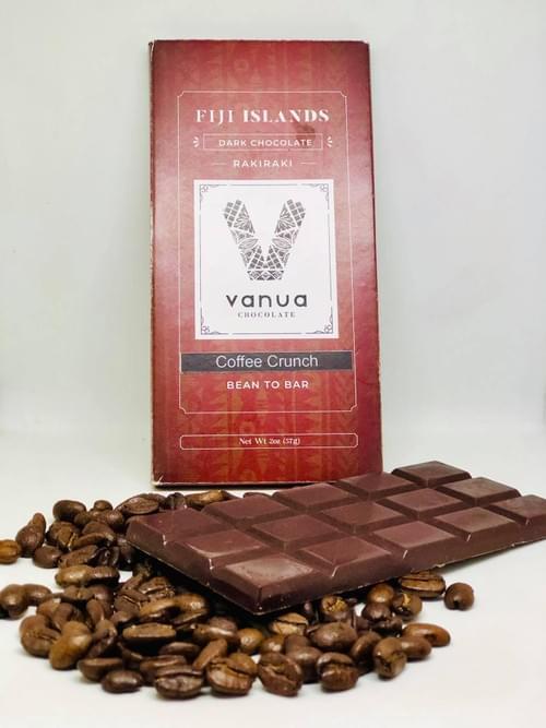 Rakiraki Coffee Crunch Vanuachocolate