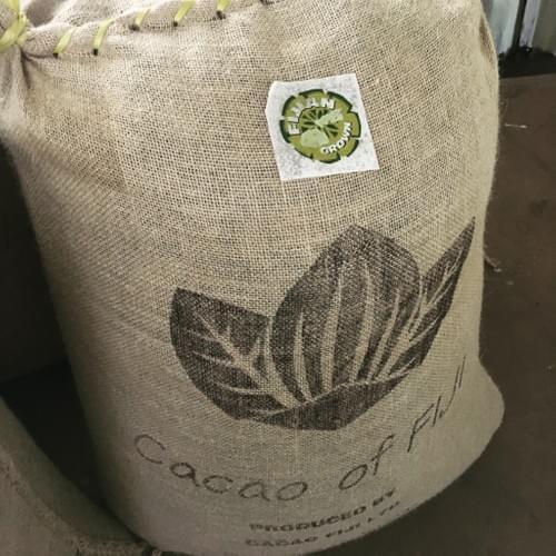 Cacao Fiji beans