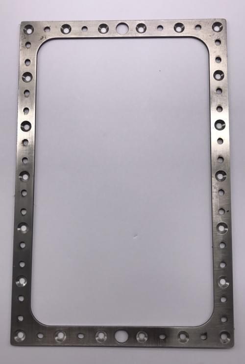 止め板(レジンタンク裏側板ーステンレス製)