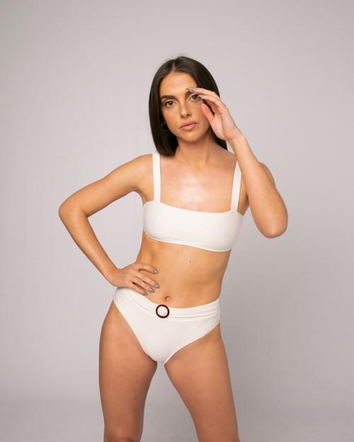 Bikini Loto Nido Abeja Crudo