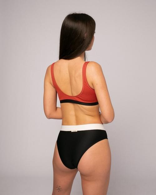 Bikini Top Tricolor