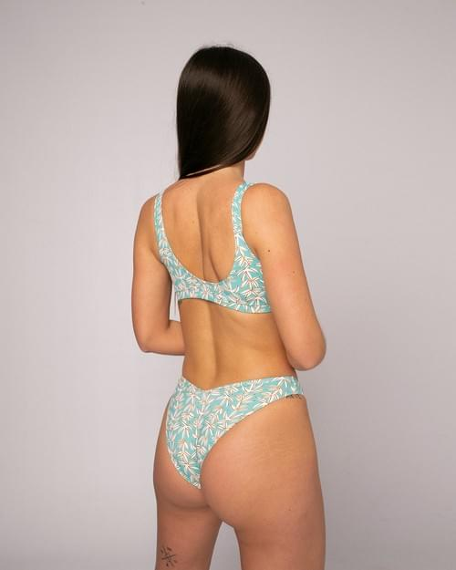 Bikini Top Floral