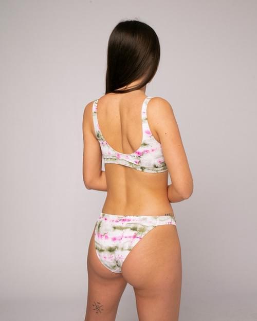 Bikini Top Tie Dye