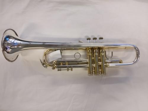 trompette BACH sib pavillon argent massif