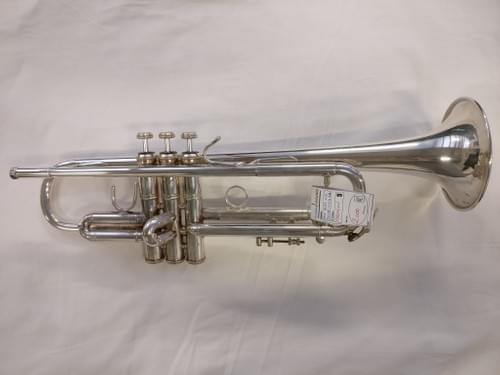 Trompette Bach SIb argentée