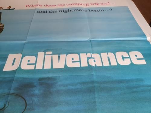 """Deliverance (1972) ORIGINAL POSTER 30x40"""" -- SOLD"""