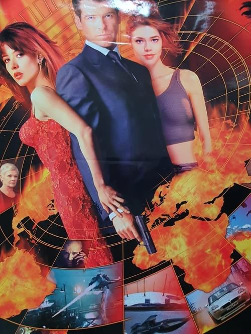 The World Is Not Enough ORIGINAL ONE SHEET POSTER 27 x 40""