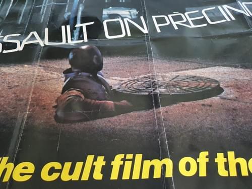 "Assault on Precinct 13 (1976) ORIGINAL QUAD MOVIE POSTER 30 x 40"""