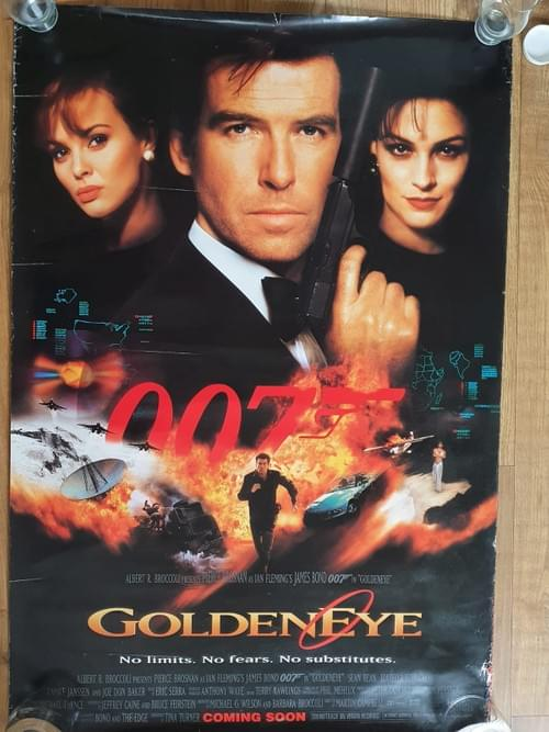 Goldeneye ORIGINAL ONE SHEET POSTER 27 x 40""