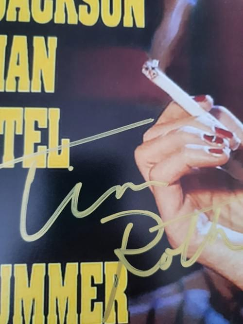 """Pulp Fiction MULTIPLE SIGNED POSTER 27X40"""""""