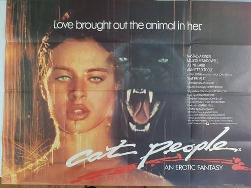 """Cat People ORIGINAL UK QUAD POSTER 40x30"""""""