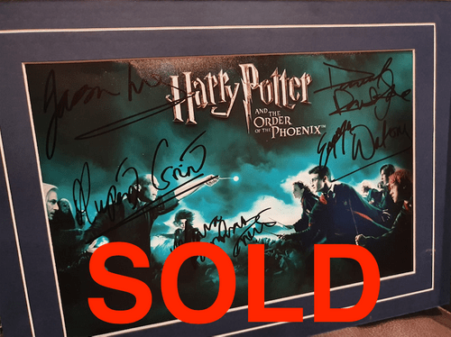 Harry Potter and The Order of the Phoenix MULTI CAST SIGNED PHOTO -- SOLD