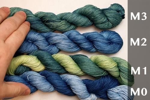 Natural Indigo Dye Sashiko Thread