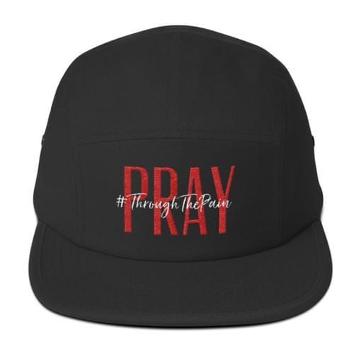 Pray #ThroughThePain Cap