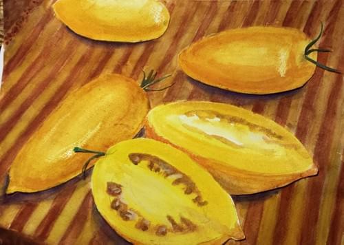 Orange Banana Tomato