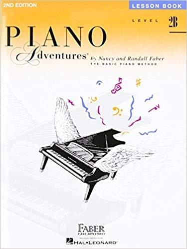 Piano Adventures Lesson Level 2B