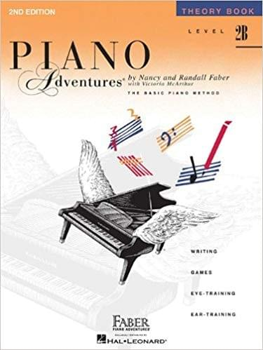 Piano Adventures Theory Level 2B