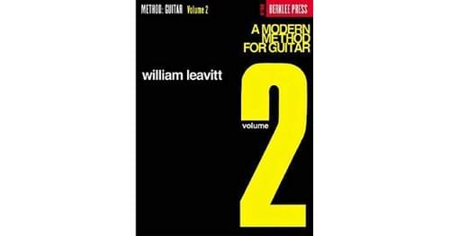Berklee A Modern Method For Guitar Vol 2