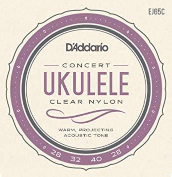D'Addario EJ65C Pro-Arte Custom Extruded Concert Ukulele Strings